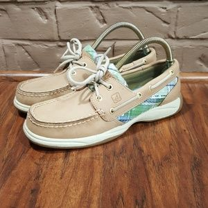 Sperry Top Sider, size 6, perfect condition.